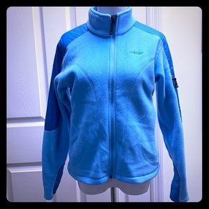 Women's Spyder zip up fleece jacket